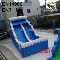 Family Wave Inflatable Slide