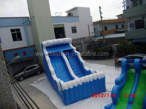 Buy Blue Inflatable Slide With Best Price