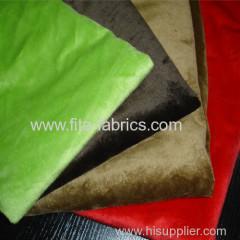 Polyester dyeing velboa fabric