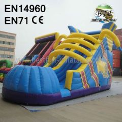 Inflatable Shoes Shape Slide 2014