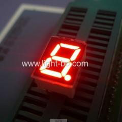 "Single digit 0.39"" anode red 7 segment led display"