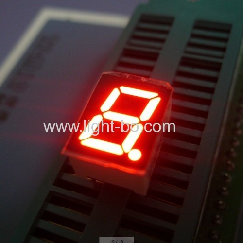 Ultra bright white Single-Digit 0.39 Common Cathode 7-Segment LED Display