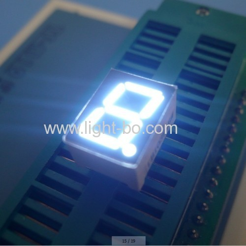 Ultra Bright Red Single-Digit 0.39Common Anode 7-Segment LED Display