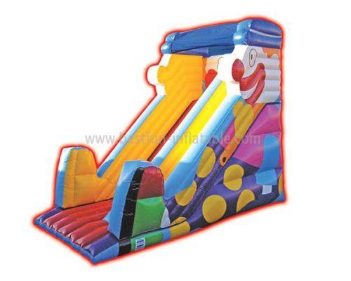Children Inflatable Clown Slide