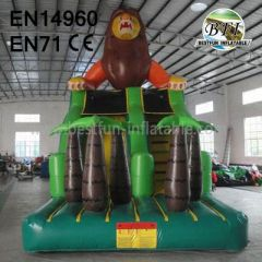 Inflatable Lion Slide For Children