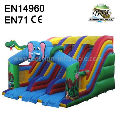 Childrens Inflatable Water Slides Manufacture