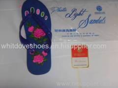 SUN DOVE BRAND PVC SLIPPERS SANDALS 1