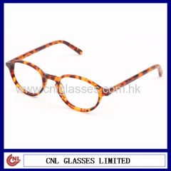 Acetate round optical frame