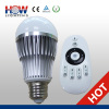 E27 remote control led Bulb lamp