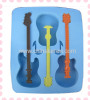 guitar shaped ice cube mould