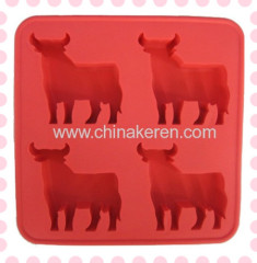 TPR red Ice animal strong Moulds