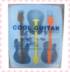 TPR blue guitar Ice Moulds