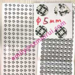 Warranty Screw Cover Stickers,Screw Cap Warranty Stickers,Eggshell Paper Screw Labels for Do Not Open Seal Labels