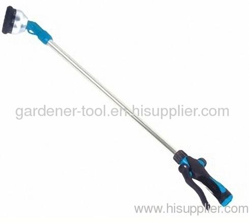 Aluminium 10 function garden water wand for garden washing