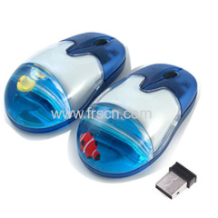 OEM floater wired/wireless computer liquid mouse