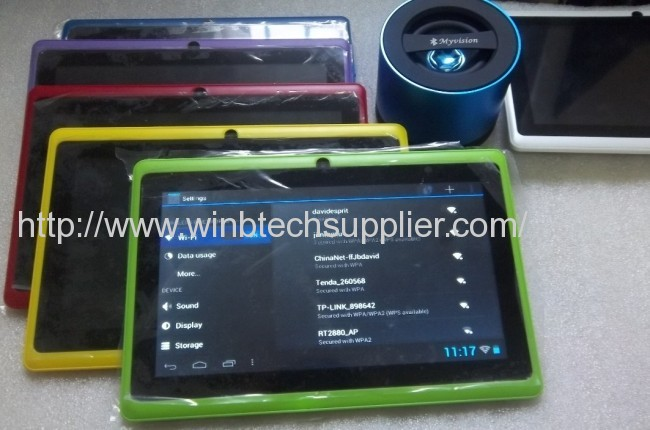 q88 allwinner 7INCH android tablet pc