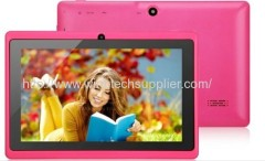 """ALLWinner A13 Q88 7.0"""" Android 4.0 512MB/4GB 5 points touch capacitiive touch Tablet PC"""