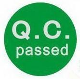QC Certificate.