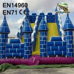 Inflatable Castle Slide For Playground