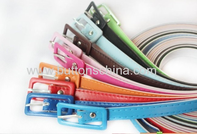 Fashion PU belt for lady