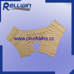 880STAB-K470 plastic sideflexing table top conveyor chains with bottom beads