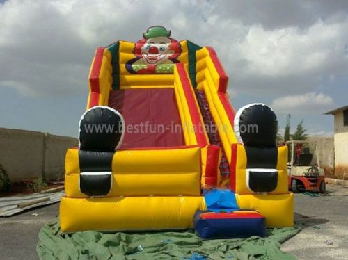 Inflatable Cheap Clown Slide