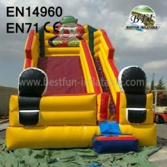 Inflatable Pvc Clown Small Slide