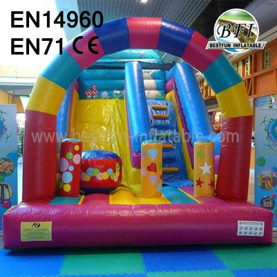 Inflatable Arch Slide Outdoor Use