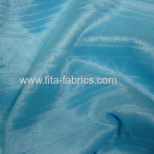 Clip cord and dyed fleece fabric