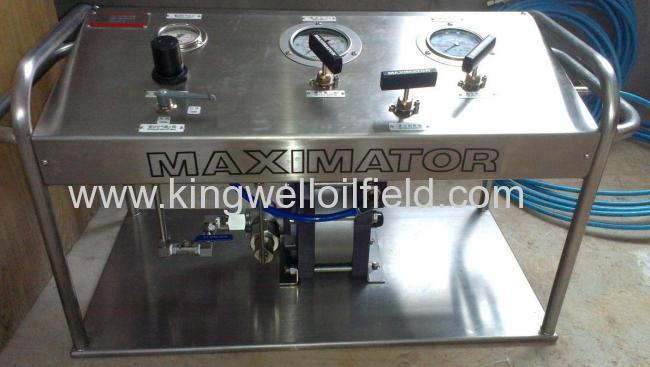 Haskel Pump(Nitrogen Pump Comp w/Hose)