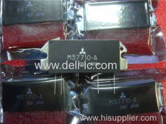 M57710 - 156-160MHz 12.5V 30W FM MOBILE RADIO - Mitsubishi Electric Semiconductor