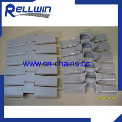 882TAB bevel side flexing plastic conveyor chains