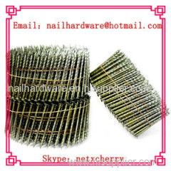 15 degree wooden pallet coil nail