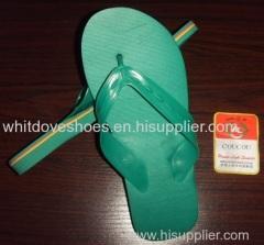 PVC slippers white dove z