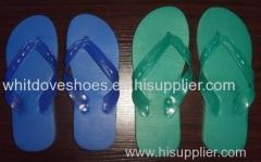 STOCK -----COUCOU BRAND PLASTIC LIGHT SLIPPER PVC MATERIAL BLUE/GREEN 1