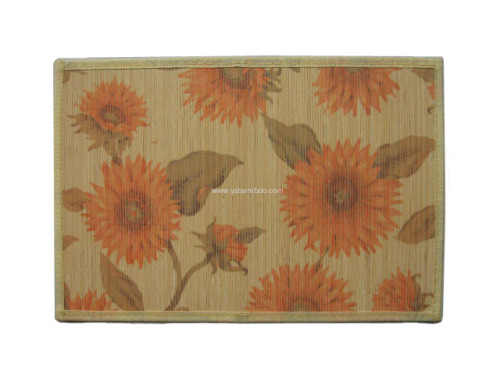 printing bamboo placemats wholesale