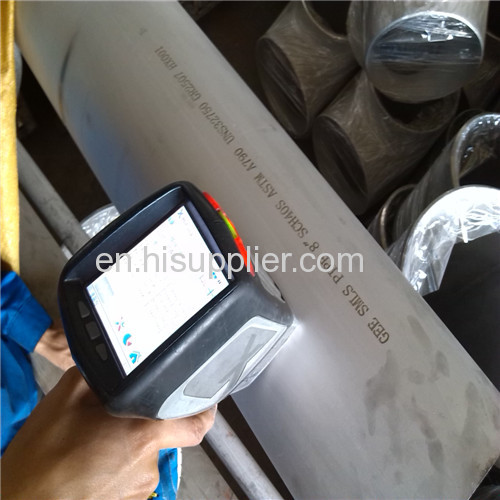 8 sch40 A790 uns32750 supper stainlesssteel pipe