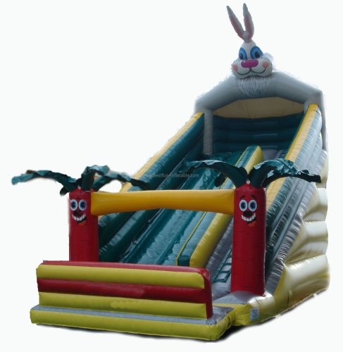 Carrot Pvc Inflatable Rabbit Slides