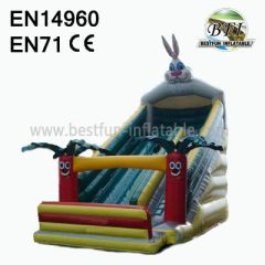 Inflatable Rabbit Commercial Slides For Sale