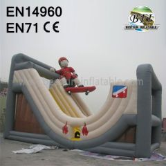 Giant Inflatable Ski Slide