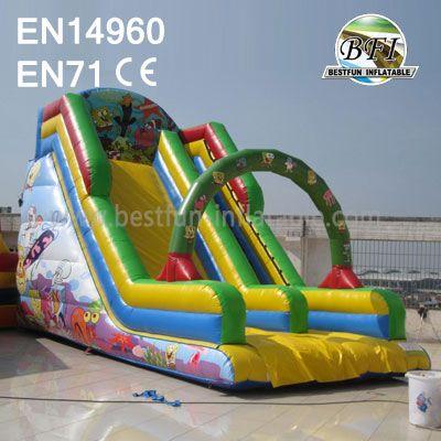 Inflatable Spongebob Squarepants Slide