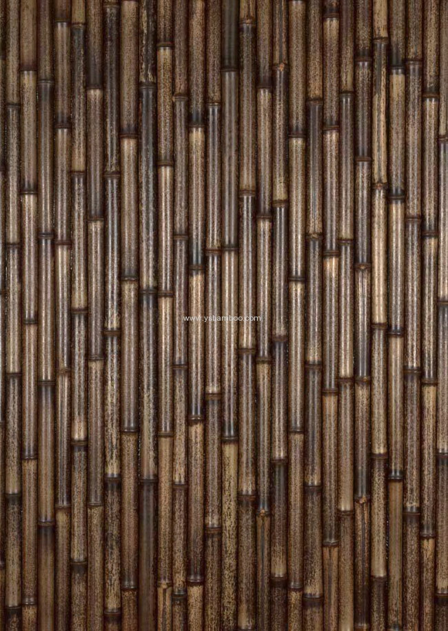 dry black bamboo stakes