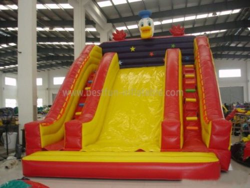 Backyard Inflatable Duck Slide For Sale