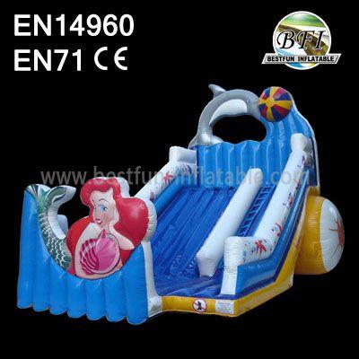 Inflatable Mermaid Slide For Children