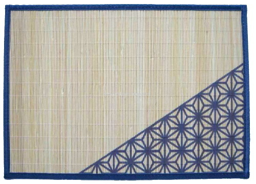 printing design bamboo lunchmat