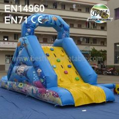 Children Inflatable Climbing Slide