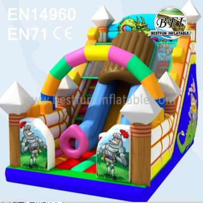 Commercial Jumping Inflatable Slides