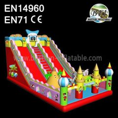 Inflatable Disney World Amusement Park Slides