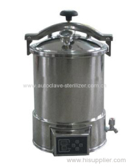 Automatic portable Pressure Steam Autocalve