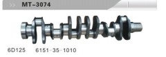 6D125 CRANKSHAFT FOR EXCAVATOR